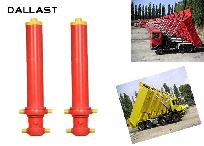 Hydraulic Ram Cylinder Telescoping Chrome Lifting Dumper Tipper Trailer