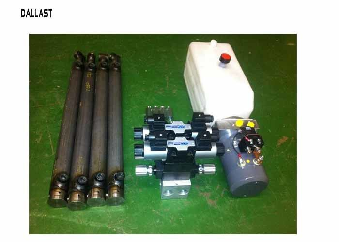 Hydraulic Power Pack Work with Double Acting Cylinder Remote Control 220 Voltage